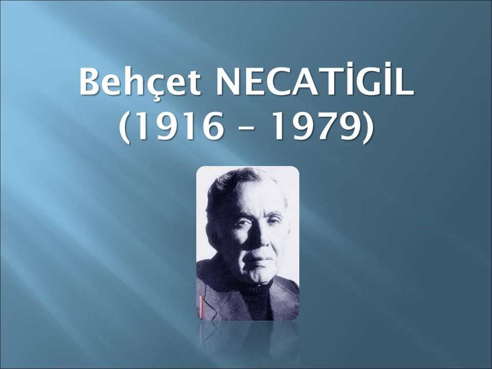Erdem BAYAZIT (1939 – 2008)