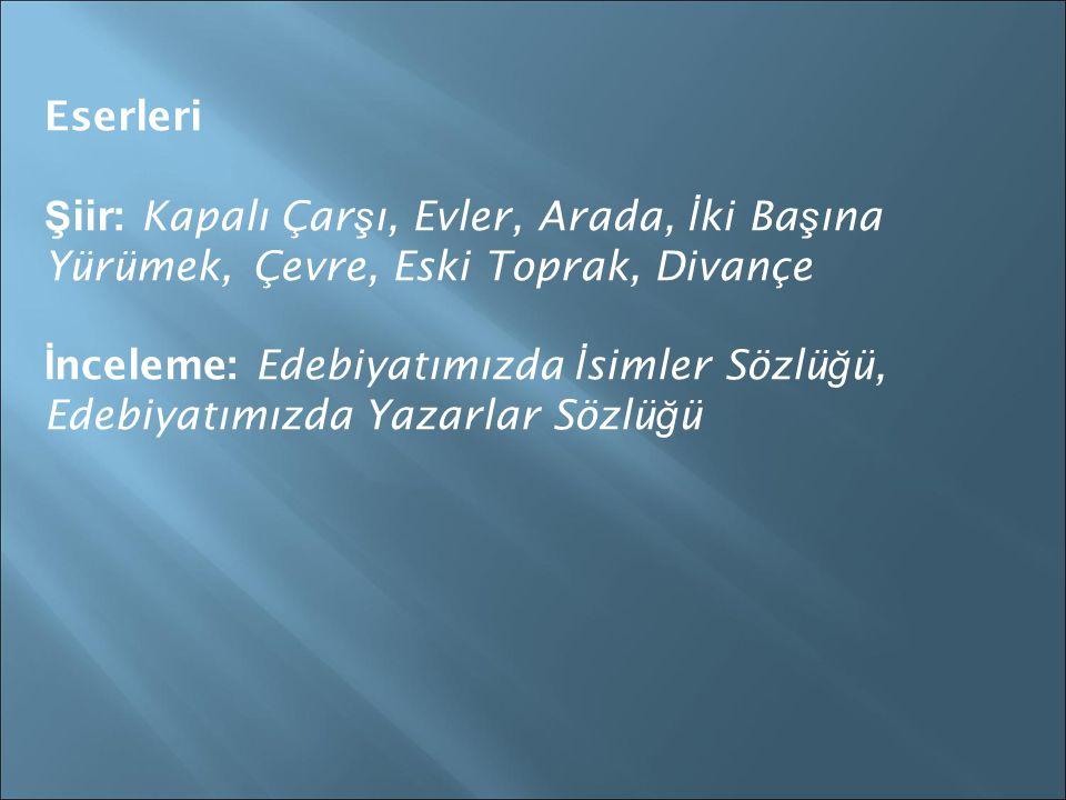 Cahit KÜLEBİ (1917 – 1997)