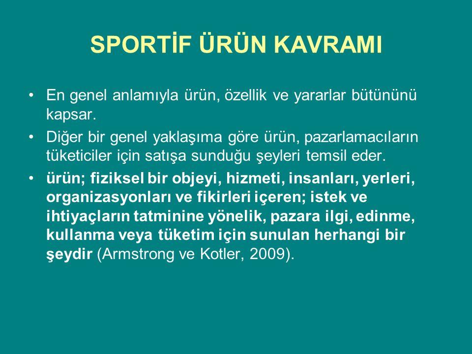 SPORTİF ÜRÜN KAVRAMI Lisanslama Lisanslama spor sayesinde pazarlamanın bir şeklidir ve sporda yaygın bir biçimde kullanılır.