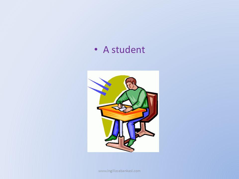 A student www.ingilizcebankasi.com