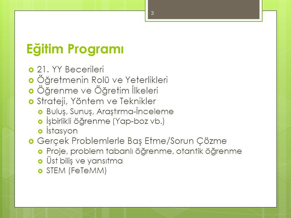 Eğitim Programı  21.