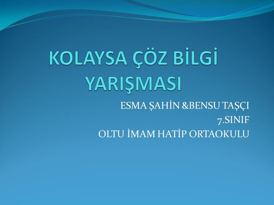 İlk Türk beylikleri ve eselerini yazınız.(1+)