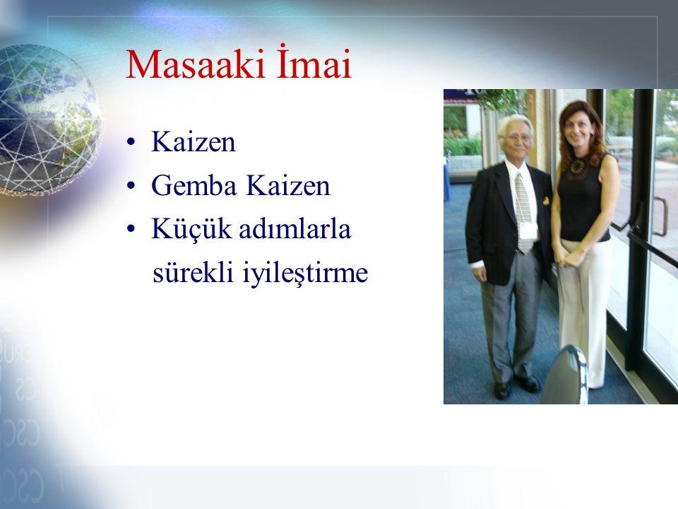Masaaki İmai Kaizen Gemba Kaizen Küçük adımlarla sürekli iyileştirme