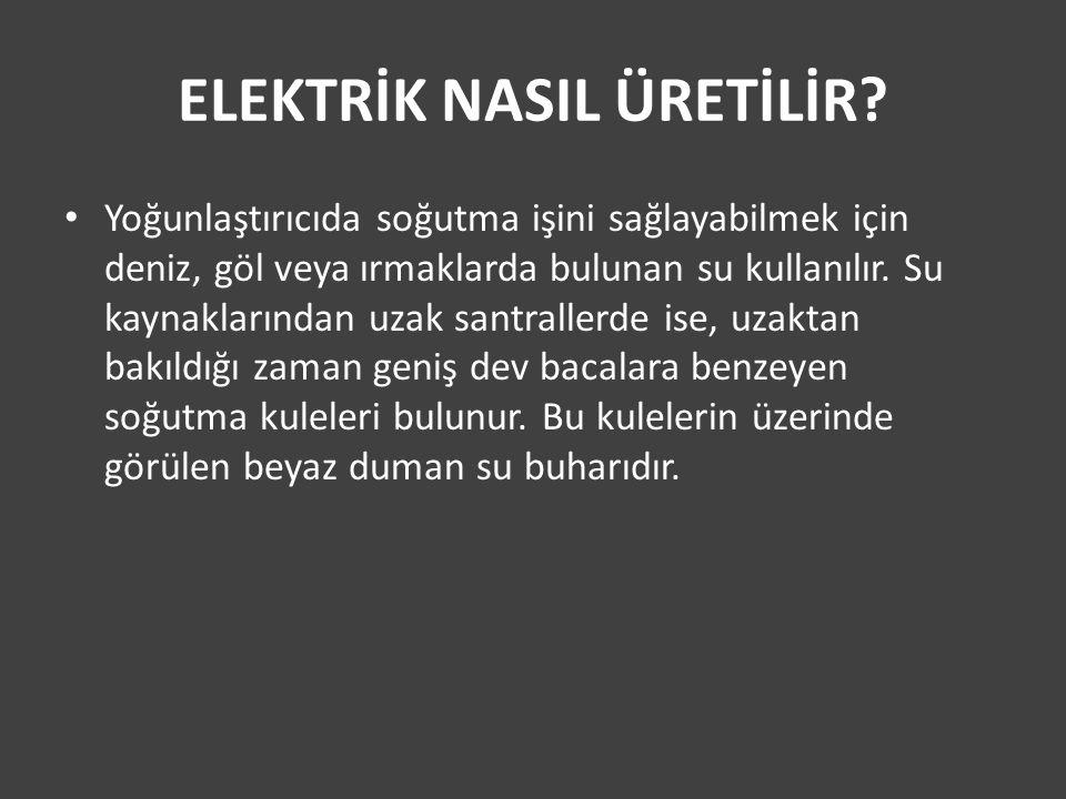 ELEKTRİK NASIL ÜRETİLİR.