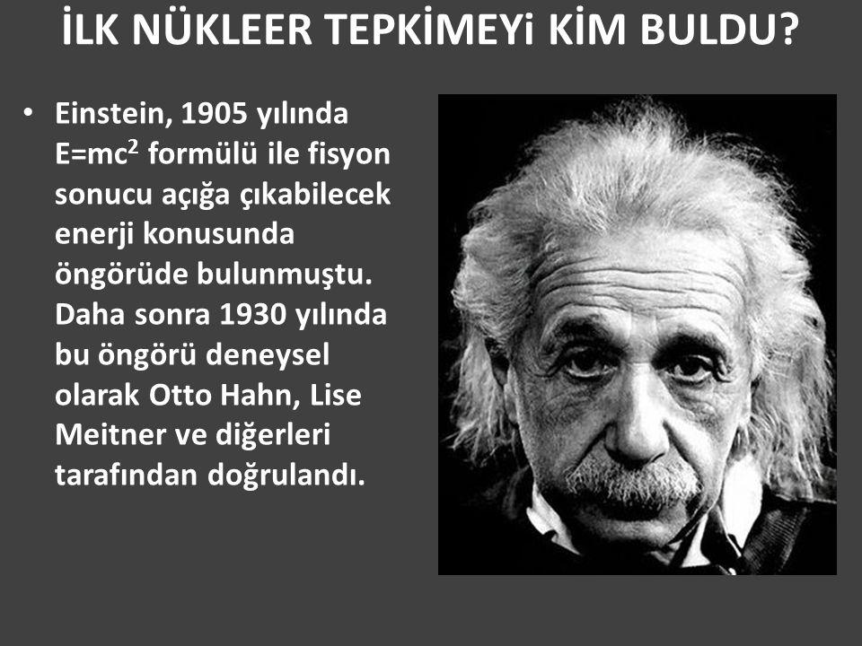 Nükleer Reaktörler Enerji Dışında Bir Şey Üretir mi.