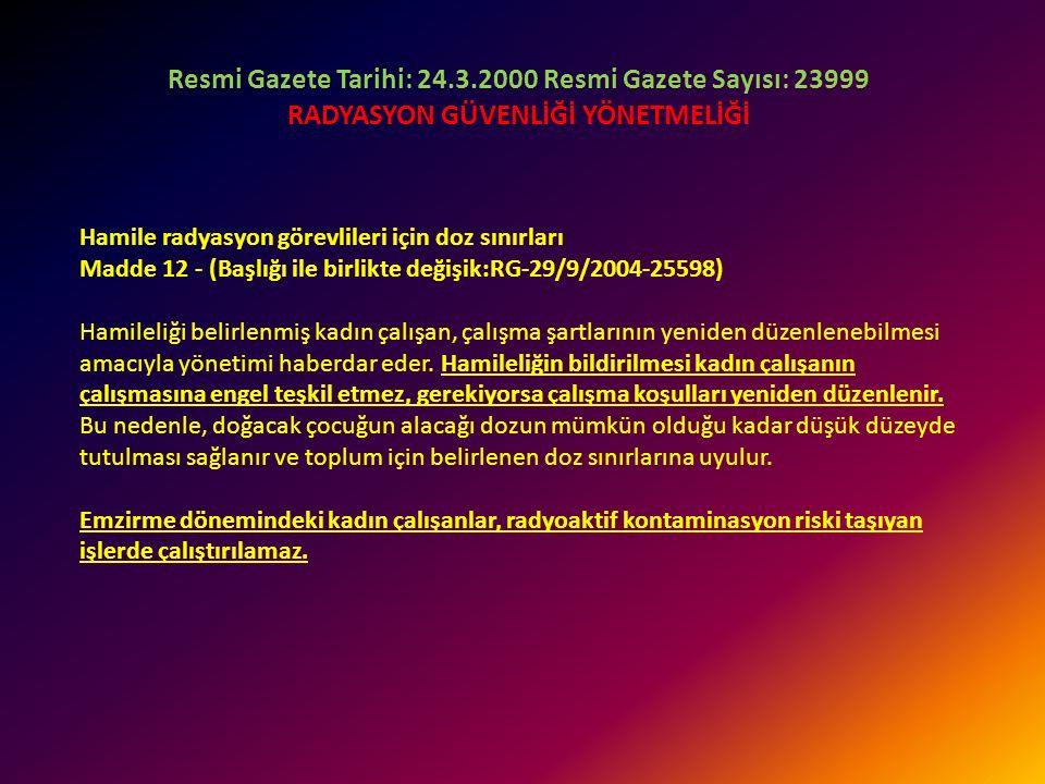 b) (Değişik:RG-29/9/2004-25598) Toplum üyesi kişiler için etkin doz yılda 1 mSv'i geçemez. Özel durumlarda; ardışık beş yılın ortalaması 1 mSv olmak ü
