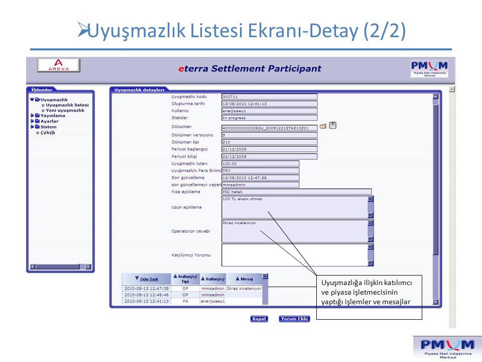 SET-13: KATILIMCI GDDK ÖZET TABLOLARI (1/6) Rapor Tipi , Tarih ve UEVÇB seçeneği seçilir.