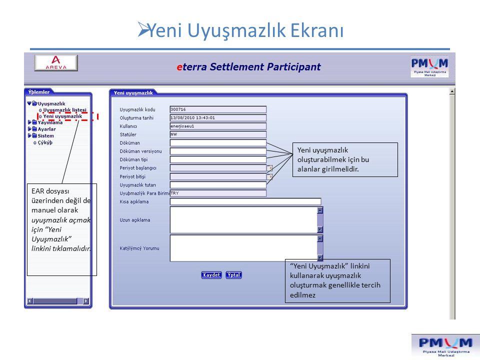  Doküman Ekranı Döküman Listesine ulaşmak için Yayınlama altında yer alan Doküman linkini tıklamalıdır.
