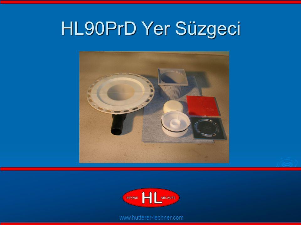 www.hutterer-lechner.com Flexible Dichtlippen HL90PrD Yer Süzgeci