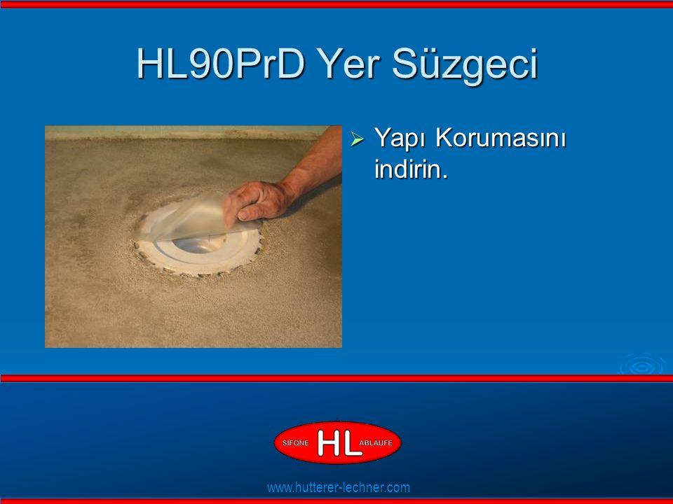 www.hutterer-lechner.com Flexible Dichtlippen HL90PrD Yer Süzgeci  Yapı Korumasını indirin.