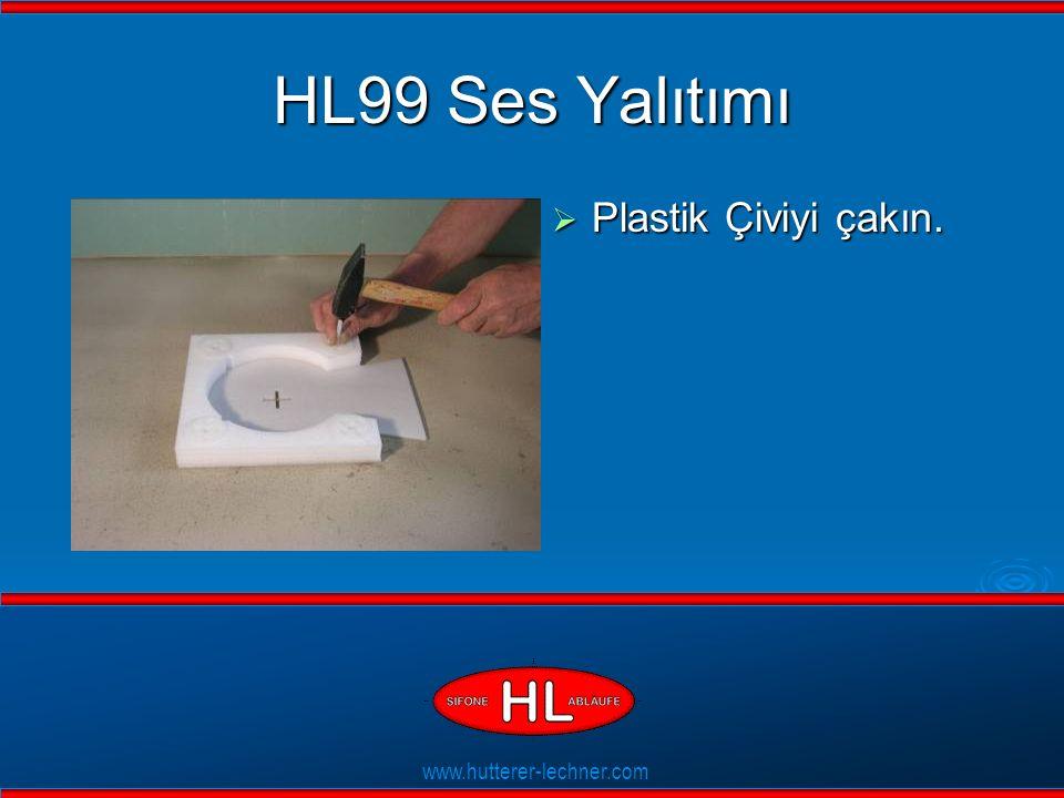 www.hutterer-lechner.com Flexible Dichtlippen HL99 Ses Yalıtımı  Plastik Çiviyi çakın.