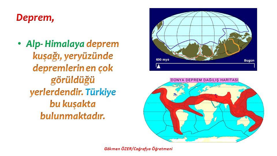 Türkiye'de çığ olayları en çok Doğu Anadolu ve Kuzey Anadolu Dağlarında (Karadeniz) görülür.