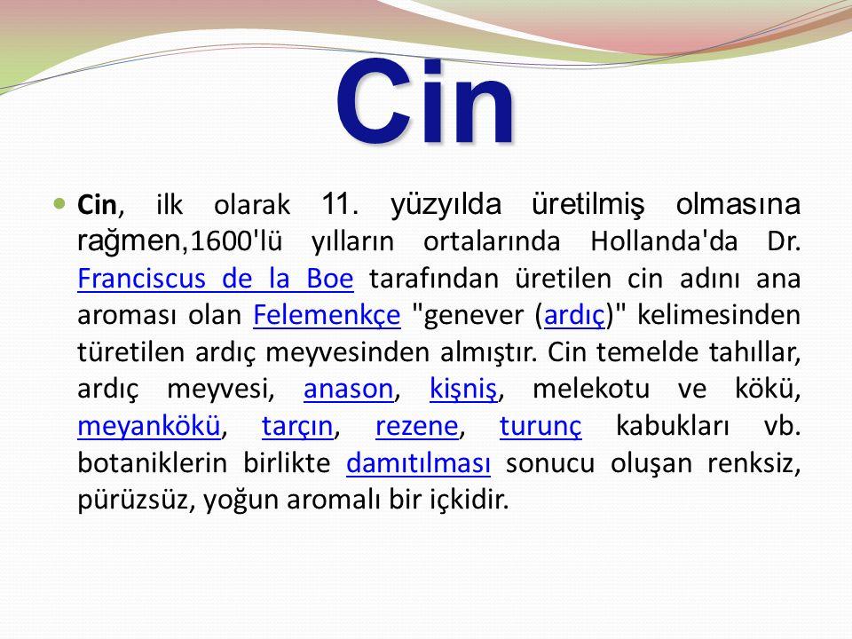 Cin Cin, ilk olarak 11.