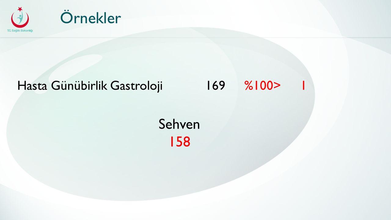 Örnekler Hasta Günübirlik Gastroloji1691%100> Sehven 158