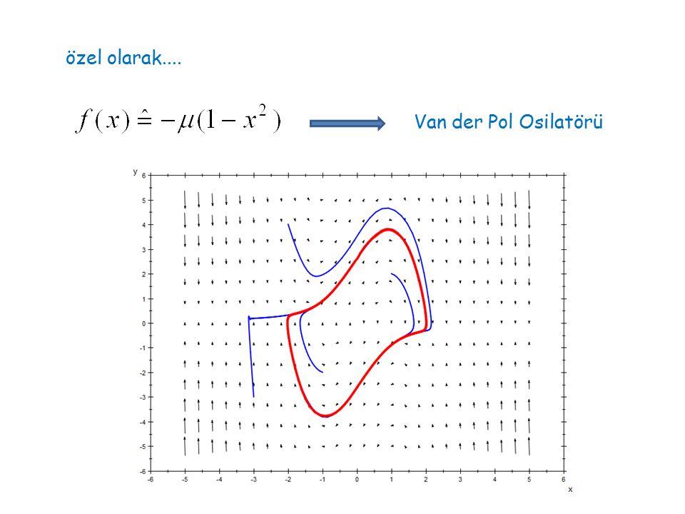 Dinamik sistemlerin genel, niteliksel özelliklerini belirlemek istiyoruz...