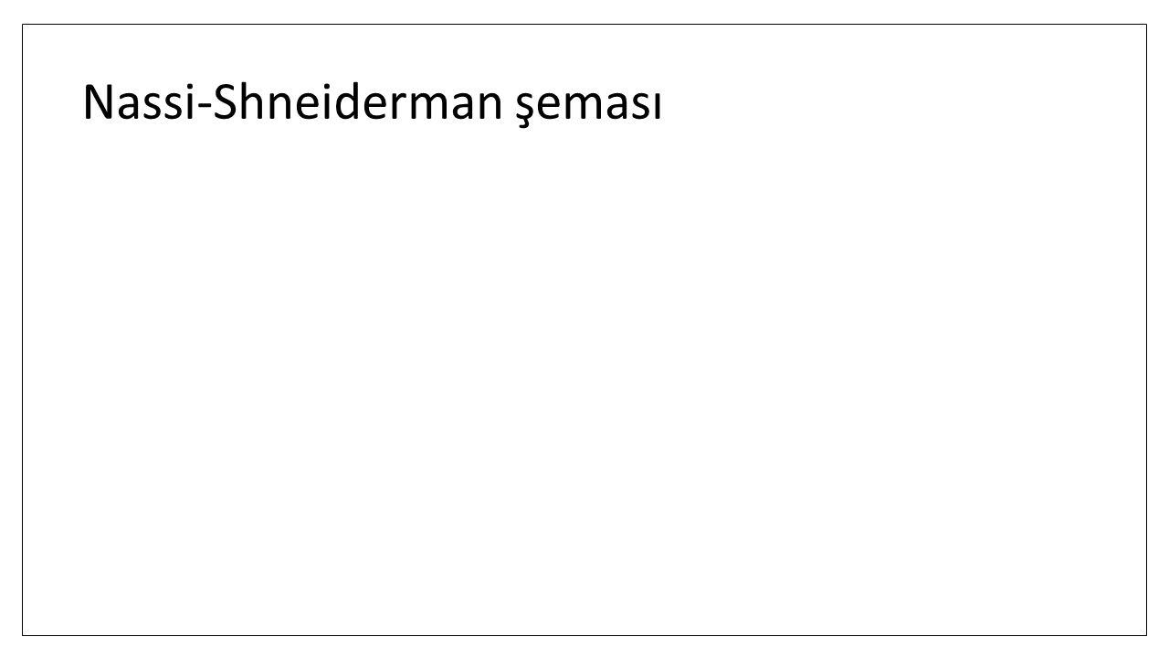 Nassi-Shneiderman şeması