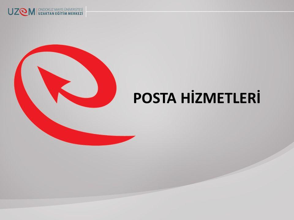 POSTA HİZMETLERİ