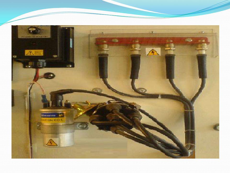 Klasik ateşleme sisteminin çalışması Bataryadan gelen düşük gerilimli akım, kontak anahtarından geçip bobin birinci devre sargılarını dolaşarak platin kontakları üzerinden devresini tamamlar.