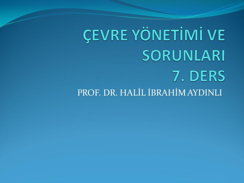 PROF. DR. HALİL İBRAHİM AYDINLI