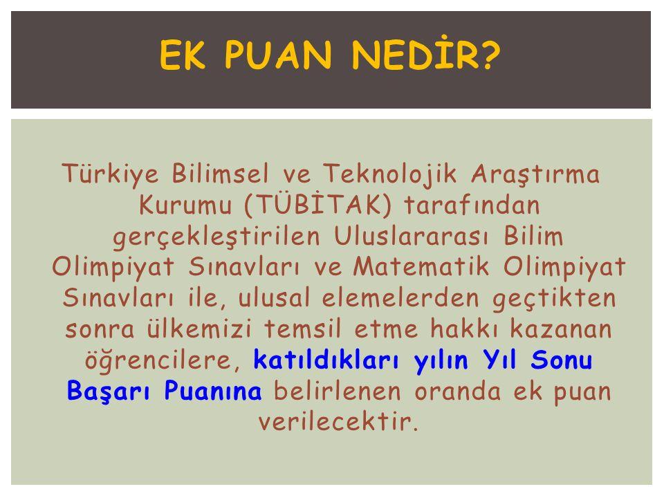 EK PUAN NEDİR.