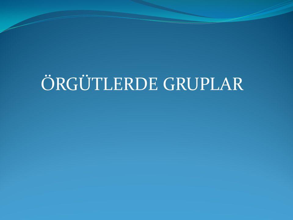 1.Grup ve Grupların Anlamı Grup kelimesi, İtalyanca da ki gruppo kelimesinden gelmektedir.