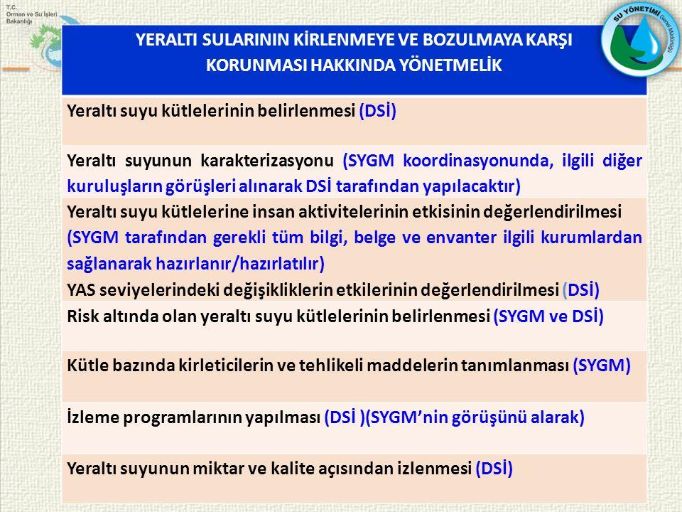 Türkiye'de Yeraltı Suyu Yönetimi Konusundaki Kapasitenin Geliştirilmesi Projesi Sunulan Program : ESEI 2012 PROGRAMI Projenin Bütçesi : 2.900.000 AVRO AB Katkısı : 2.715.000 AVRO Başlangıç Tarihi : 2014
