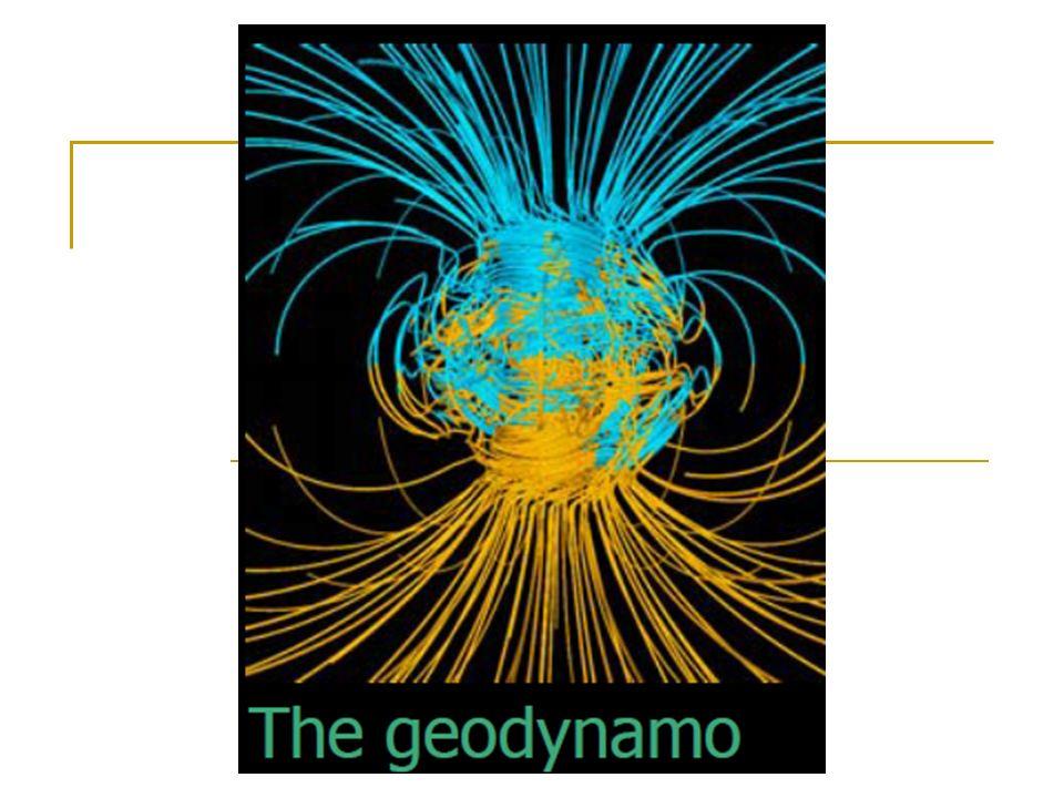 Dynamo Etkisi : Dinamo etkisi jeofiziksel bir teori olarak yer manyetik alanın kökenini kendi kendini besleyen bir dinamo modeli ile açıklamaya çalışmaktadır.