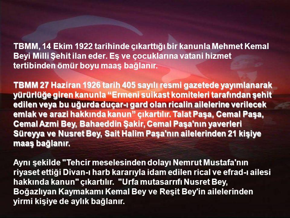 Cenaze töreni ertesi gün aralarında, Tıbbiye ve Mülkiyeli öğrenciler, Teşkilat-ı Mahsusa, Mim Mim grubu ve Karakol grubu üyelerinin de bulunduğu çok kalabalık bir halk kitlesi tarafından Kadıköy'de gerçekleştirilir.