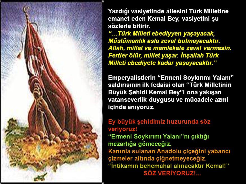 TBMM, 14 Ekim 1922 tarihinde çıkarttığı bir kanunla Mehmet Kemal Beyi Milli Şehit ilan eder.