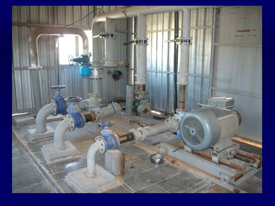 Pompaj tesisinin su gereksinimleri yılın farklı zamanlarında değişiklik gösterir.