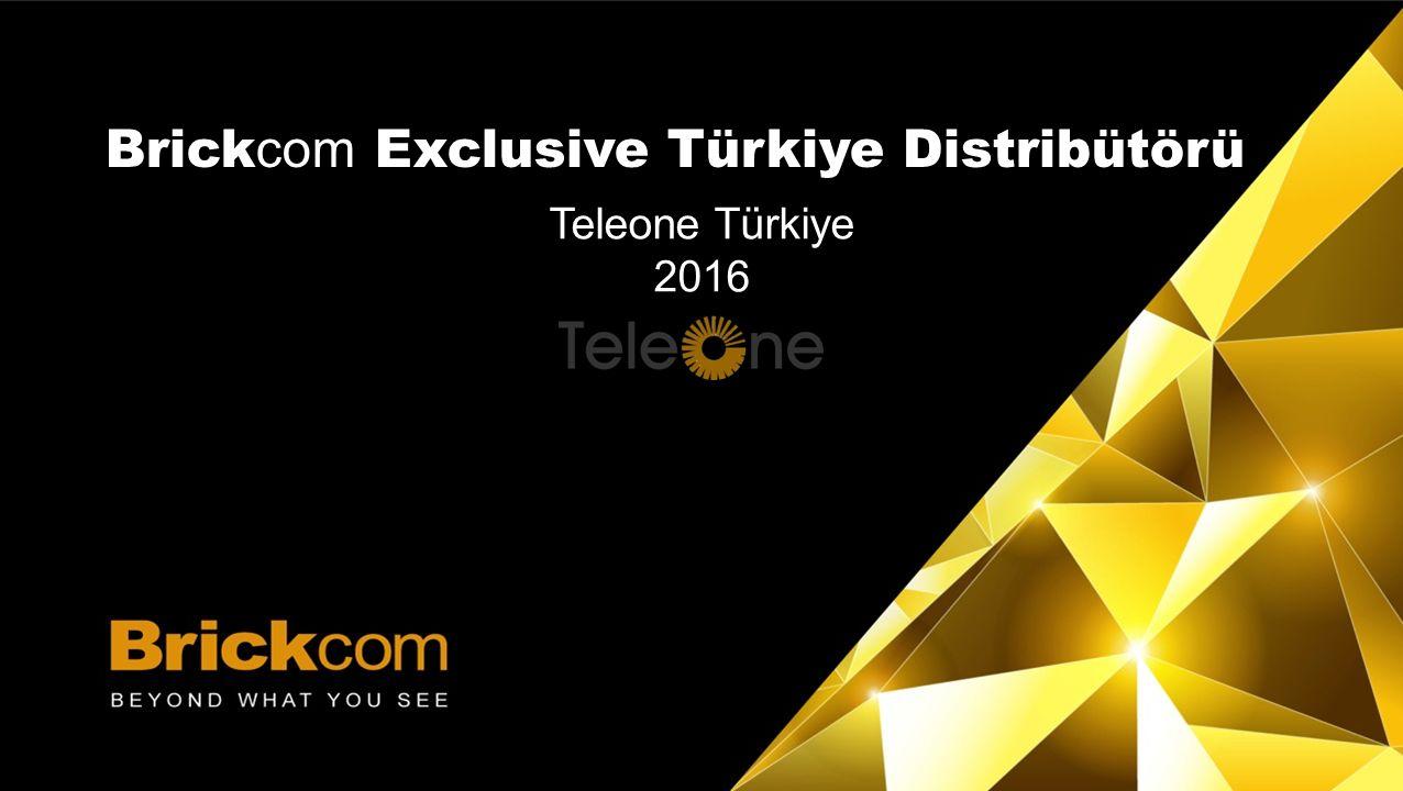 TASARLA | TEST ET | UYGULA Brick com Exclusive Türkiye Distribütörü Teleone Türkiye 2016