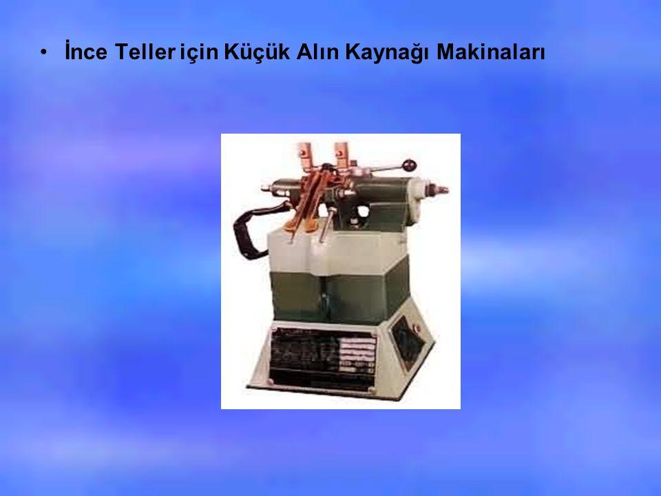 İnce Teller için Küçük Alın Kaynağı Makinaları