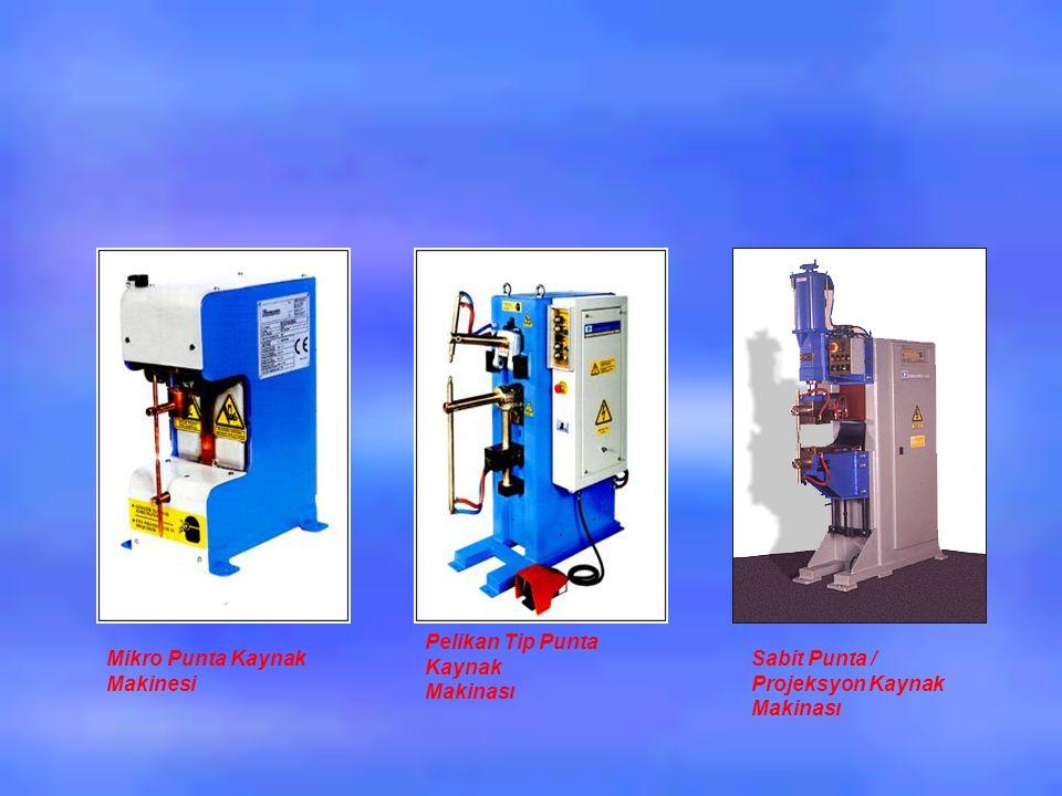 Mikro Punta Kaynak Makinesi Pelikan Tip Punta Kaynak Makinası Sabit Punta / Projeksyon Kaynak Makinası