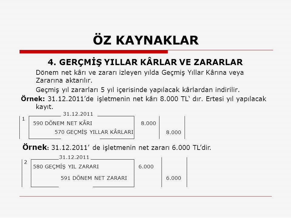 ÖZ KAYNAKLAR 4.