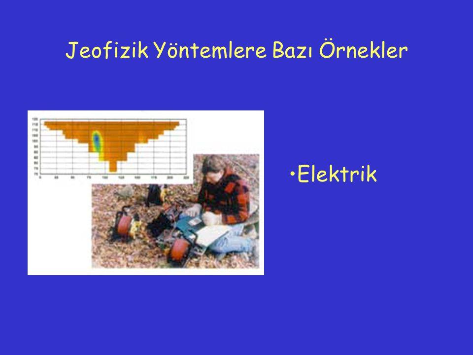 Elektrik Jeofizik Yöntemlere Bazı Örnekler