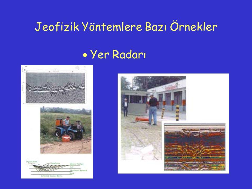  Yer Radarı Jeofizik Yöntemlere Bazı Örnekler