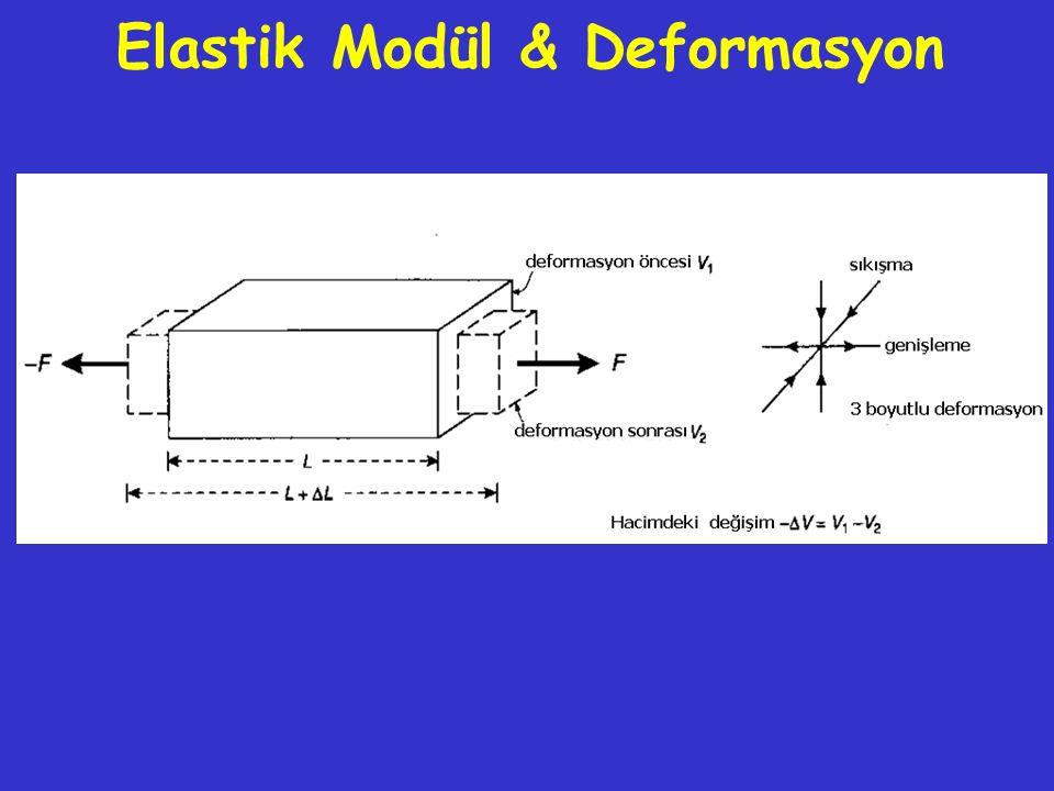 Elastik Modül & Deformasyon