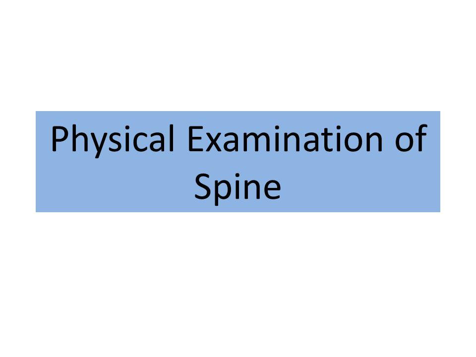 Radiküler Semptomlar Ağrının dağılımı, taraf bulgusu ve niceliği Dermatomal ağrı dağılımı veya uyuşukluk ve sızlama – L3 or L4 - anterior uyluk ağrısı – L5 -ayak sırtı ve başparmak – S1 -posterior baldır, topuk, ayak dış yanı Bacak Ağrısı > Bel Ağrısı!
