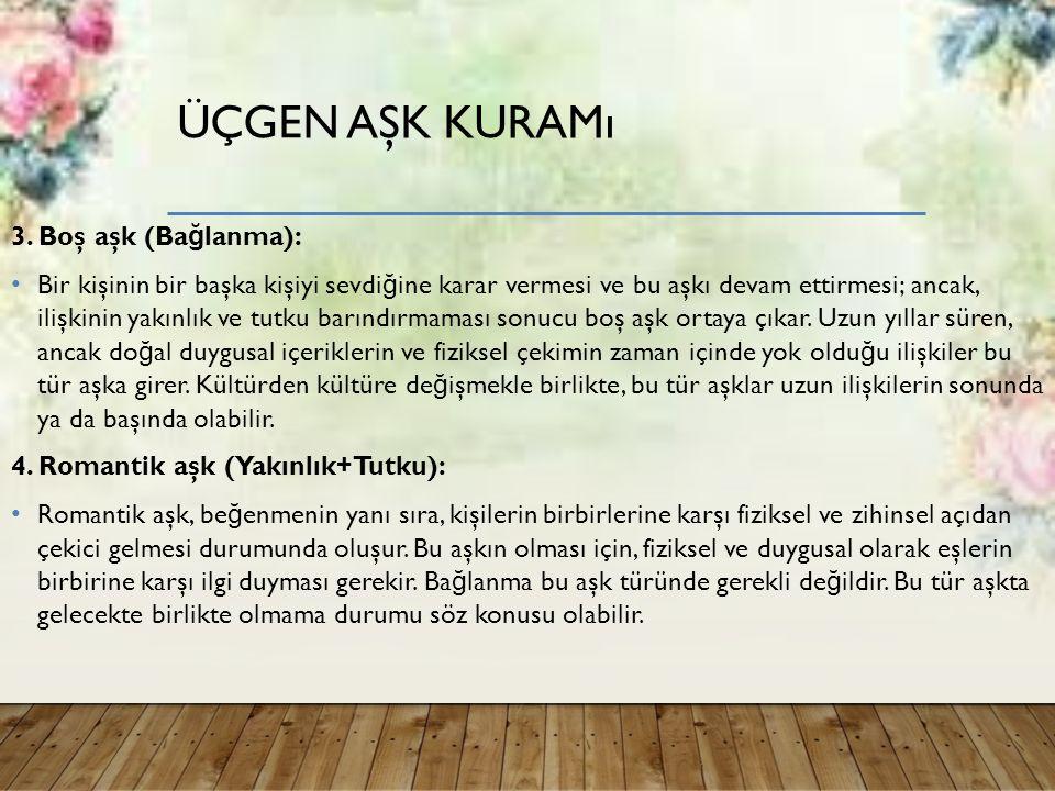 ÜÇGEN AŞK KURAMı 3.