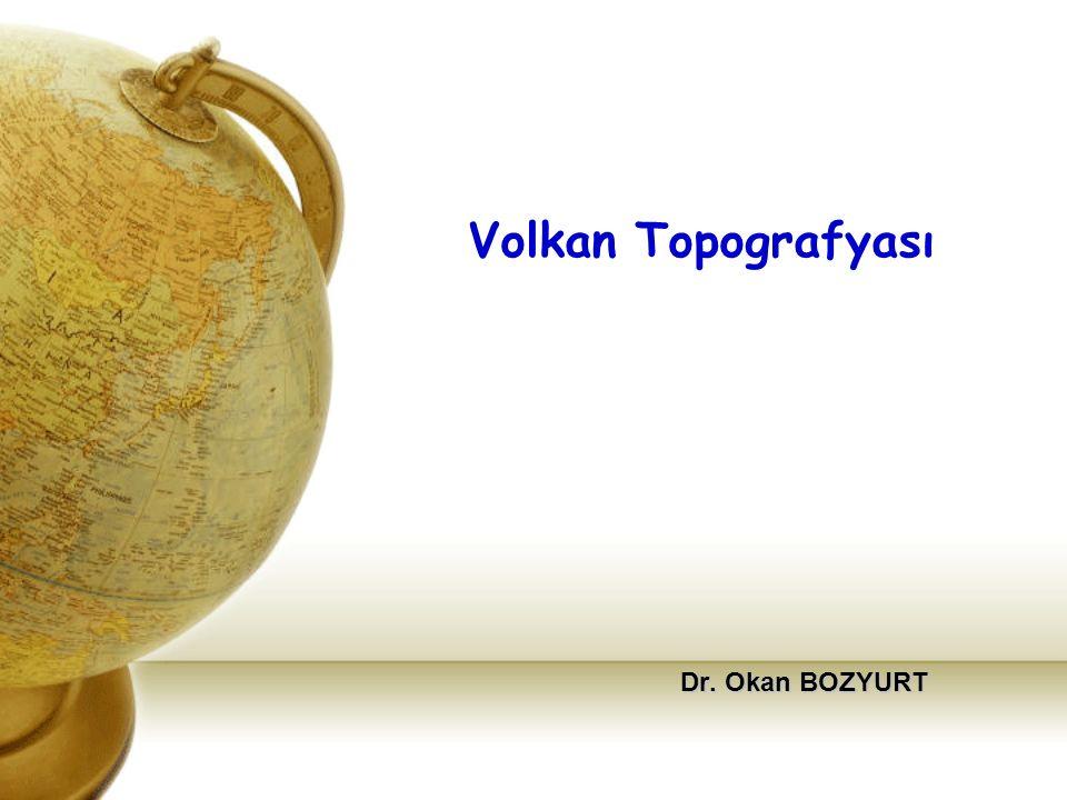 Volkanizma olayına bağlı olarak meydana gelen yerşekillerini içeren topografyaya volkan topografyası denir.