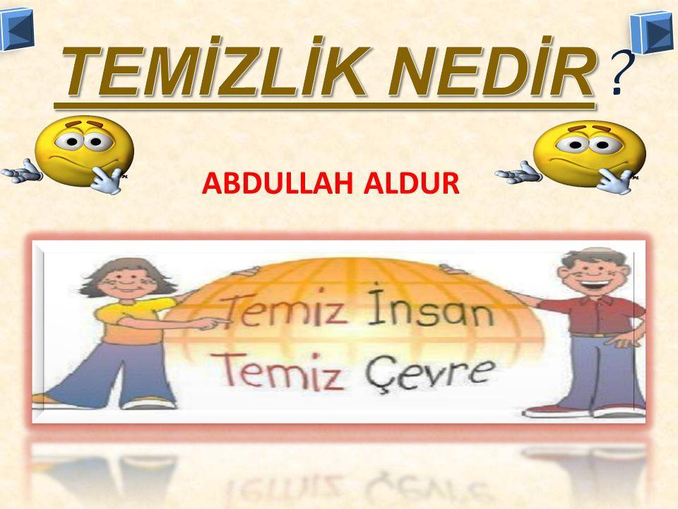 ABDULLAH ALDUR