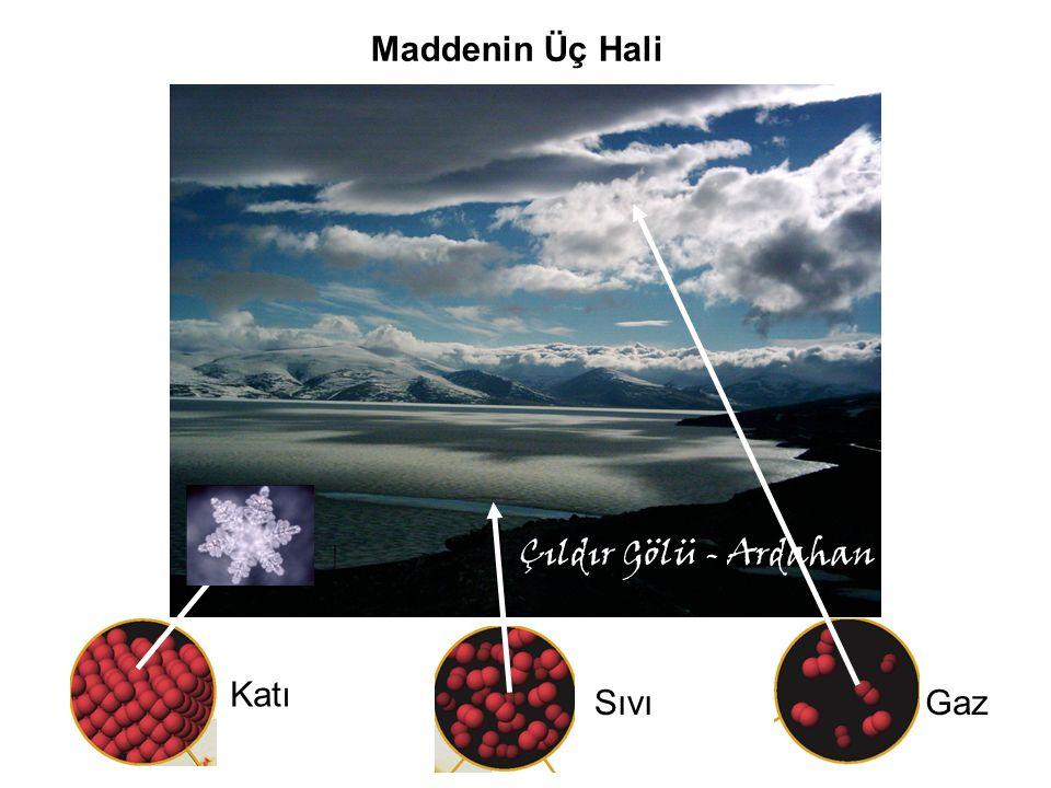 Çıldır Gölü - Ardahan Maddenin Üç Hali Katı SıvıGaz