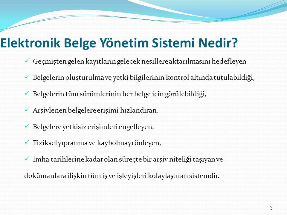 Elektronik Belge Yönetim Sistemi Nedir.