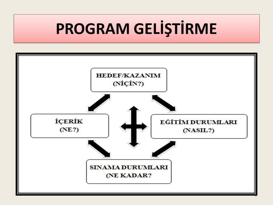 PROGRAM GELİŞTİRME 4