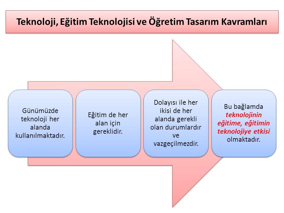 Günümüzde teknoloji her alanda kullanılmaktadır. Eğitim de her alan için gereklidir. Dolayısı ile her ikisi de her alanda gerekli olan durumlardır ve
