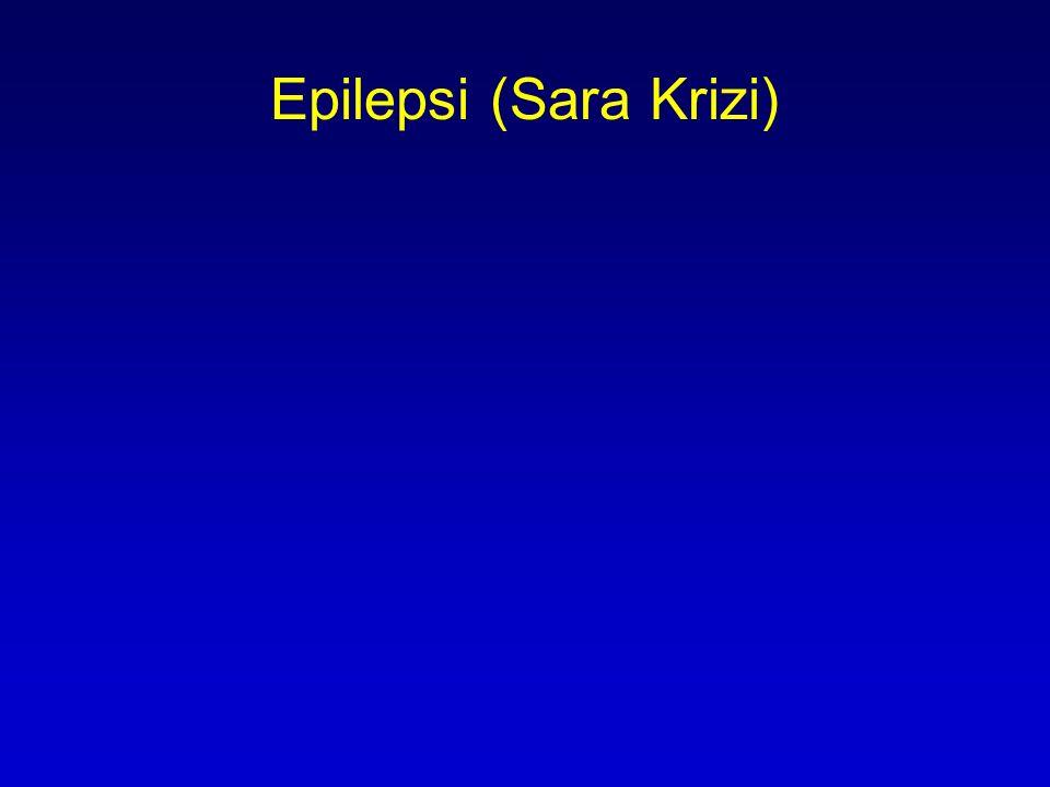 Epilepsi (Sara Krizi)