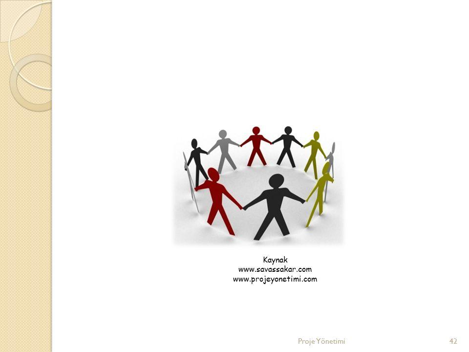 42 Kaynak www.savassakar.com www.projeyonetimi.com