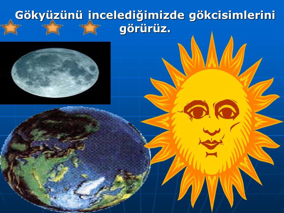 Dünya'nın çevresini saran sonsuz boşluk,uzayı oluşturur. Gökyüzü, sonsuz boşluğun bir bölümüdür
