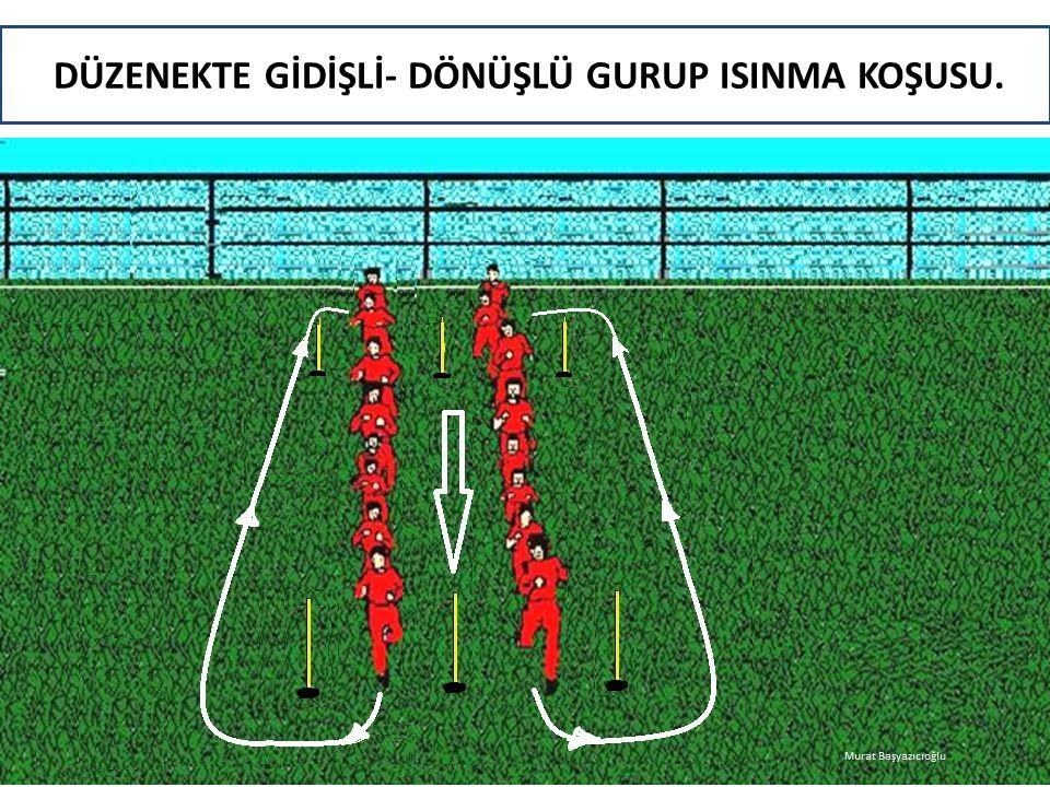 DÜZENEKTE GİDİŞLİ- DÖNÜŞLÜ GURUP ISINMA KOŞUSU. Murat Başyazıcıoğlu