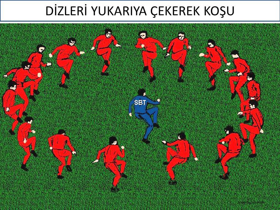 DİZLERİ YUKARIYA ÇEKEREK KOŞU Murat Başyazıcıoğlu